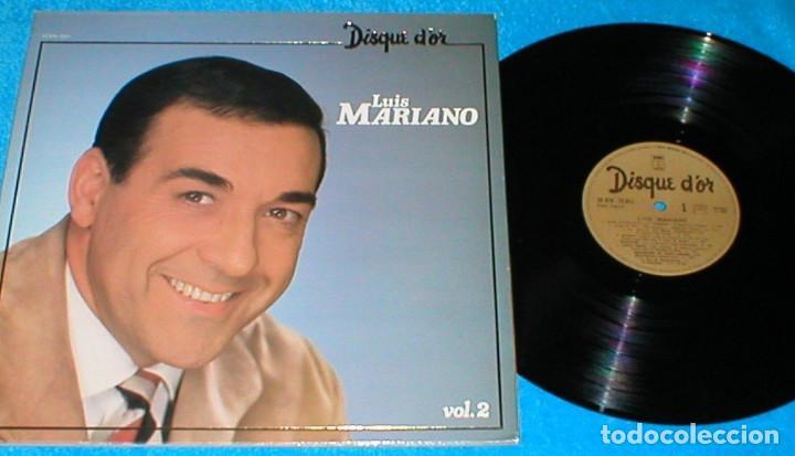LUIS MARIANO FRANCIA LP 1980 DISQUE D´OR VOLUMEN 2 EXITOS RECOPILACION RECOPILATORIO POP CHANSON EXC (Música - Discos - LP Vinilo - Canción Francesa e Italiana)