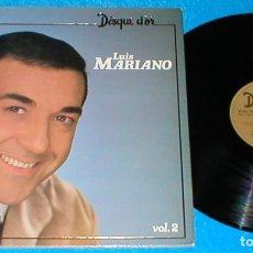 Discos de vinilo: LUIS MARIANO FRANCIA LP 1980 DISQUE D´OR VOLUMEN 2 EXITOS RECOPILACION RECOPILATORIO POP CHANSON EXC. Lote 201911581