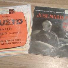 Discos de vinilo: LOTE DE 2 SINGLE AÑOS 50.. Lote 201914773