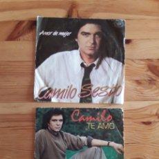 Discos de vinilo: CAMILO SESTO 6 EP ROSETTA MIENTEME MANUELA AMOR DE MUJER TE AMO DEVUELVEME MI LIBERTAD CAMILO BLANES. Lote 201915776