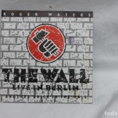 Discos de vinilo: ROGER WATERS, SINGLE, THE WALL / LIVE IN BERLIN, 1990. Lote 201919100