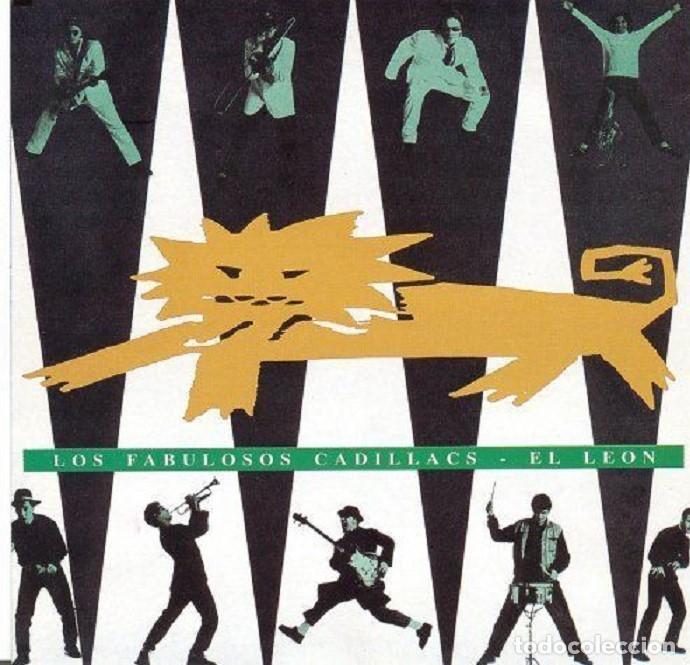 LP -EL LEÓN - LOS FABULOSOS CADILLACS - ORIGINAL ANALÓGICO SPAIN 1992 (Música - Discos - LP Vinilo - Reggae - Ska)
