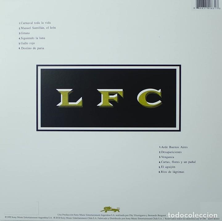 Discos de vinilo: LP -EL LEÓN - LOS FABULOSOS CADILLACS - ORIGINAL ANALÓGICO SPAIN 1992 - Foto 2 - 201927362