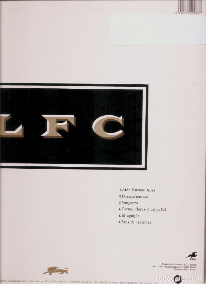 Discos de vinilo: LP -EL LEÓN - LOS FABULOSOS CADILLACS - ORIGINAL ANALÓGICO SPAIN 1992 - Foto 3 - 201927362