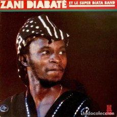 Discos de vinilo: LP ZANI DIABATE ET LE SUPER DIATA BAND - ORIGINAL SPAIN 1987. Lote 201937687