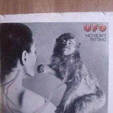 Discos de vinilo: UFO - NO HEAVY PETTING. Lote 201938728