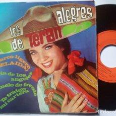 Discos de vinilo: LOS ALEGRAS DE TERAN - EL BARCO LIGERO - EP 1968 - CBS. Lote 201950436