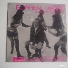 Disques de vinyle: EP EL IRREAL MADRID AUGUSTO ALGUERÓ Y VALERIO LAZAROV (POLYDOR) 1969 EN PERFECTO ESTADO. Lote 201958240