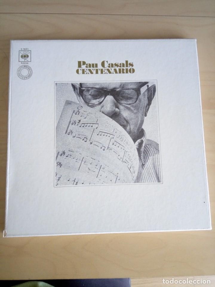 PAU CASALS CENTENARIO. 3LP. (Música - Discos - LP Vinilo - Clásica, Ópera, Zarzuela y Marchas)