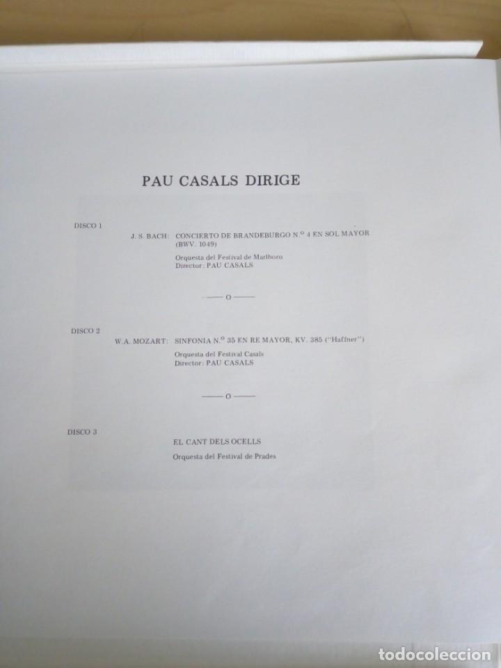 Discos de vinilo: PAU CASALS CENTENARIO. 3LP. - Foto 4 - 201971091