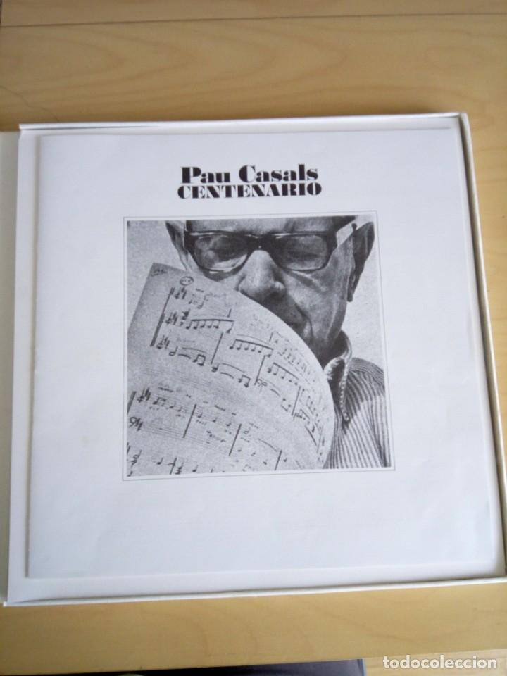 Discos de vinilo: PAU CASALS CENTENARIO. 3LP. - Foto 8 - 201971091