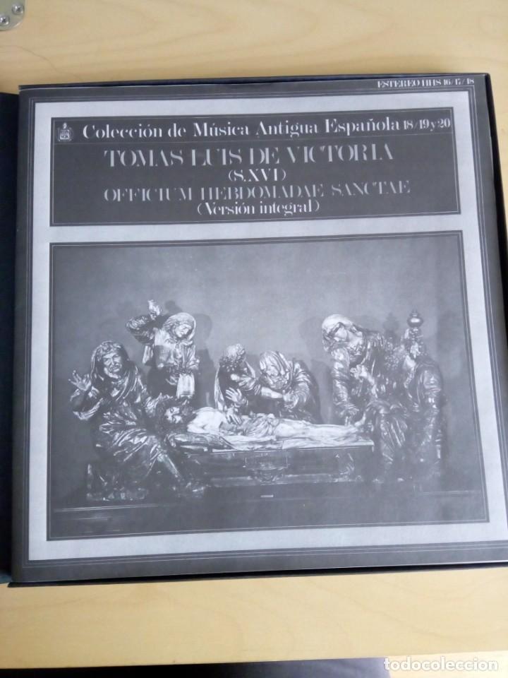 Discos de vinilo: COLECCIÓN DE MÚSICA ANTIGUA ESPAÑOLA 18, 19 Y 20 - Foto 2 - 201972063