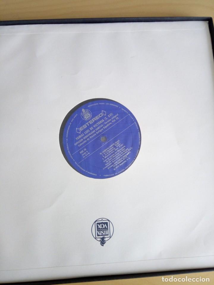 Discos de vinilo: COLECCIÓN DE MÚSICA ANTIGUA ESPAÑOLA 18, 19 Y 20 - Foto 4 - 201972063