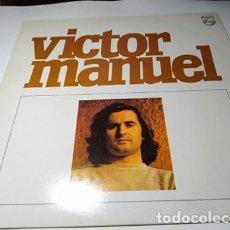 Discos de vinilo: LP - VINILO - VÍCTOR MANUEL ?– VÍCTOR MANUEL - 836 280-1 ( VG + - VG+) . Lote 201972923