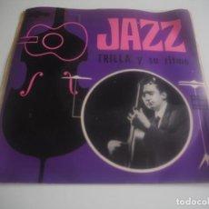 Discos de vinilo: TRILLA Y SU RITMO -EP (MAYANG, 111, 1966) JAZZ GUITARRA MUY RARO. Lote 201976001