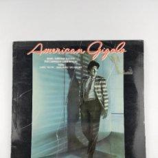 Discos de vinilo: AMERICAN GIGOLO BSO LP. Lote 201989388