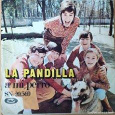 Disques de vinyle: LA PANDILLA. Lote 201999183