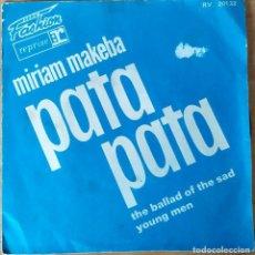 Discos de vinilo: MIRIAM MAKEBA-PATA PATA. Lote 202002543