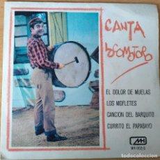 Disques de vinyle: LOCOMOTORO-EL DOLOR DE MUELAS (SINGLE DE COLORES). Lote 202003997