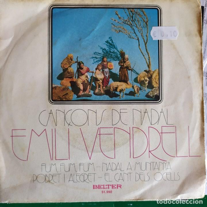 EMILI VENDRELL CANÇONS DE NADAL: FUM FUM FUM,NADAL A MUNTANYA + 2 BELTER (Música - Discos de Vinilo - EPs - Solistas Españoles de los 50 y 60)
