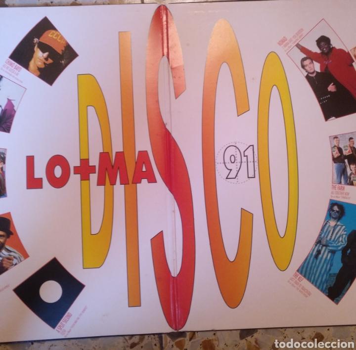 Discos de vinilo: LO MAS DISCO 91 - Foto 4 - 202008825