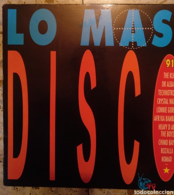 Discos de vinilo: LO MAS DISCO 91 - Foto 5 - 202008825