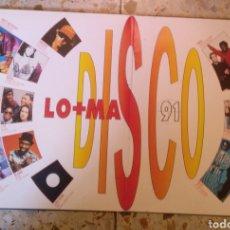 Discos de vinilo: LO MAS DISCO 91. Lote 202008825