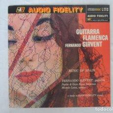 Discos de vinilo: FERNANDO SIRVENT - GUITARRA FLAMENCA - MUSIC OF SPAIN. Lote 202018193