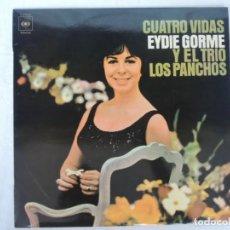 Discos de vinilo: CUATRO VIDAS - AYDIE GORME Y EL TRIO LOS PANCHOS - DISCOS CBS . Lote 202019406