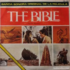 Discos de vinilo: THE BIBLE, TOSHIRO MAYUZUMI. SINGLE ORIGINAL ESPAÑA BANDA SONORA. Lote 202021860
