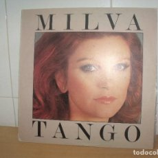 Discos de vinilo: MILVA LP ARIOLA SPAIN 1979 TANGO. Lote 202030635
