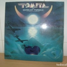 Discos de vinilo: TOMITA LP RCA SPAIN 1979 BERMUDA TRIANGLE CARPETA ABIERTA. Lote 202031283