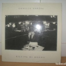 Discos de vinilo: ORNELLA VANONI LP SPAIN 1980 9RICETTA DI DONNA. Lote 202033850