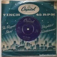 Discos de vinilo: FERLIN HUSKY. WINGS OF A DOVE/ NEXT TO JIMMY. CAPITOL, UK 1960 SINGLE. Lote 202036061