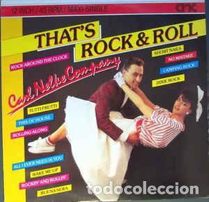 CARL NELKE COMPANY - THAT'S ROCK & ROLL (Música - Discos de Vinilo - Maxi Singles - Rock & Roll)