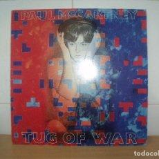 Discos de vinilo: PAUL MCCARTNEY LP SPAIN 1982 TUG OF WAR. Lote 202077522
