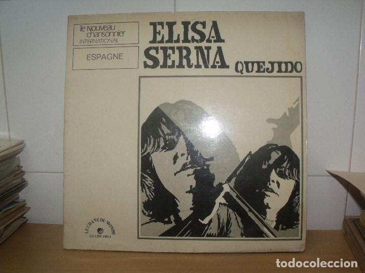 ELISA SERNA LP LE CHANT DU MONDE 1973 FRANCIA QUEJIDO CARPETA TRIPLE (Música - Discos - LP Vinilo - Clásica, Ópera, Zarzuela y Marchas)