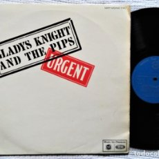 Discos de vinilo: GLADYS KNIGHT AND THE PIPS - '' URGENT '' LP UK 1967. Lote 202083090