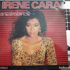 Discos de vinil: IRENE CARA - BREAKDANCE (12, MAXI) SELLO:EPIC CAT. Nº: EPC A 12.4105. COMO NUEVO. Lote 202109665