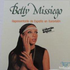 Discos de vinilo: BETTY MISSIEGO - OLYMPO - 1979. Lote 202246322
