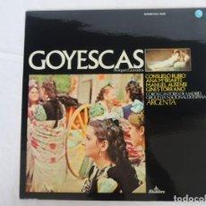 Discos de vinilo: GOYESCAS - PERIQUET / GRANADOS - 1975. Lote 202246715