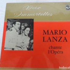 Discos de vinilo: MARIO LANZA - CHANTE A L'OPÉRA - RCA VICTOR - 1966. Lote 202247106