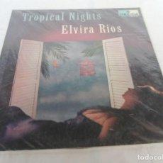 Discos de vinilo: ELVIRA RIOS - NOCHES TROPICALES - DISCOS ORBE - COLOMBIA . Lote 202248041