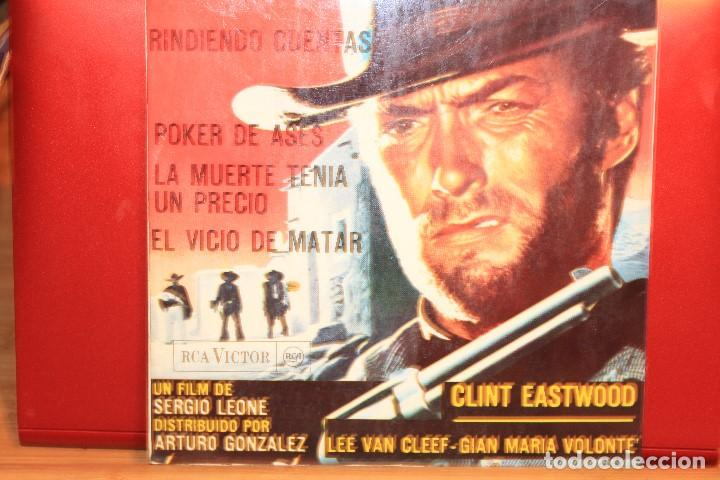 Discos de vinilo: ENNIO MORRICONE LA MUERTE TENIA UN PRECIO +3 EP 1966 RCA VICTOR 3-20997 BANDASONORA ORIGINAL - Foto 2 - 202249853