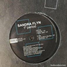 Discos de vinilo: SANDRA FLYN - 1ST PERIOD - 12'' MAXISINGLE DAMAGE 2001. Lote 202258227