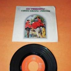 Discos de vinilo: LOS PANADEROS - CUATRO GALOPES- PERDONA. CBS RECORDS 1972 . Lote 202259031