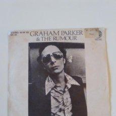 Discos de vinil: GRAHAM PARKER & THE RUMOUR SOUL SHOES / HOWLING WIND ( 1976 VERTIGO ESPAÑA ) NICK LOWE. Lote 202259325