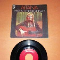 Discos de vinilo: AITANA - PEDRO - MIRAD AHI VAN- DISCOPHON RECORDS 1974. Lote 202262581