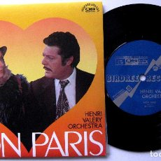 Discos de vinilo: HENRI VALERY ORCHESTRA / CATHERINE DENEUVE - MON PARIS - SINGLE BIRDREE RECORD 1974 JAPAN BPY. Lote 202265053