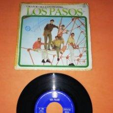 Discos de vinilo: LOS PASOS. OJO POR OJO. CONTRASTES. HISPAVOX 1967. Lote 202265971